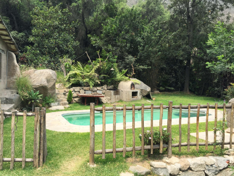 casa con piscina en Santa Eulalia