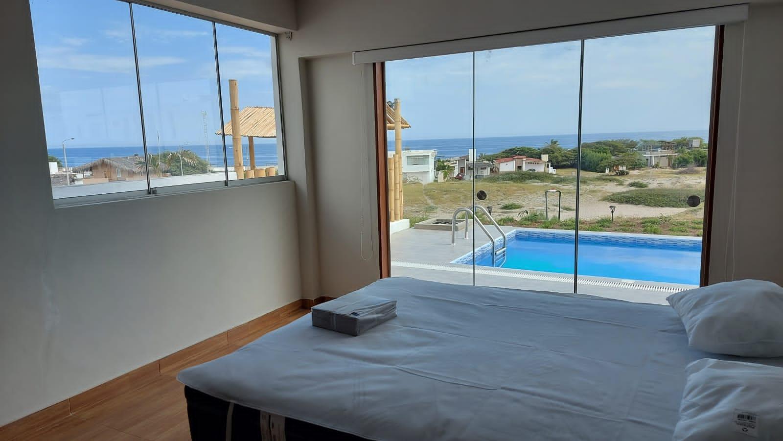 casa de playa con vista al mar en vichayito 14